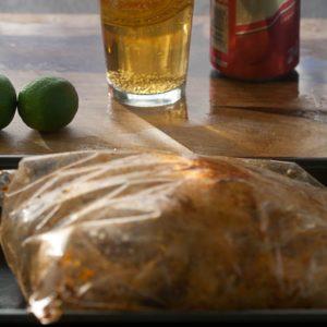 Peruvian Garlic Lime Chicken