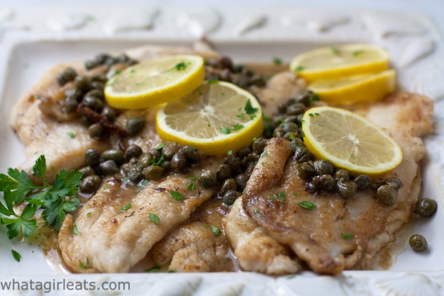 Dover Sole on a platter