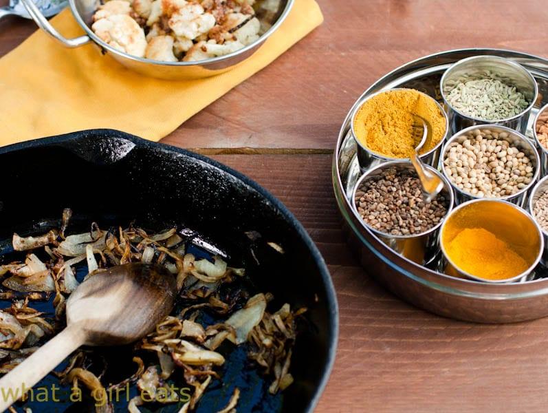Indian Spice tin