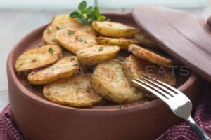 crispiest ever roasted potatoes.