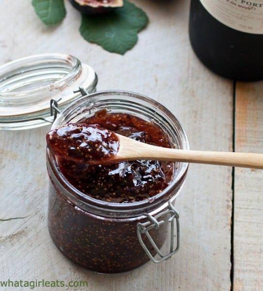 jam on a spoon