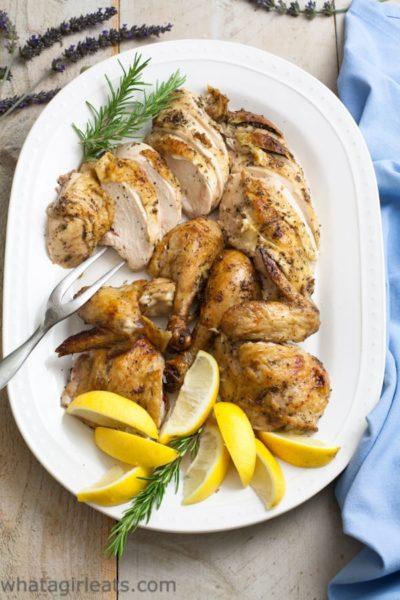 Herb Roasted Chicken-Top Shot