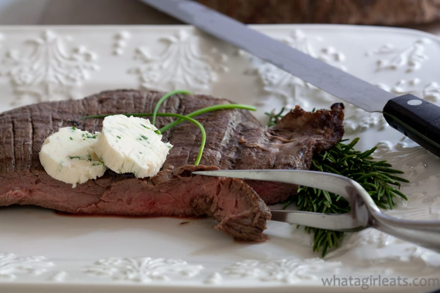 Shallot-Horseradish And Chive Compound Butter
