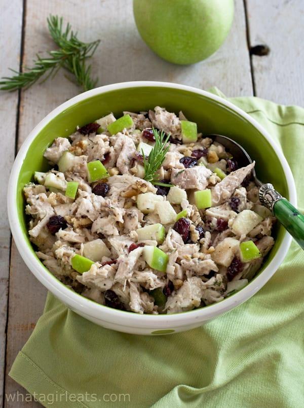 Fruit walnut chicken salad recipe