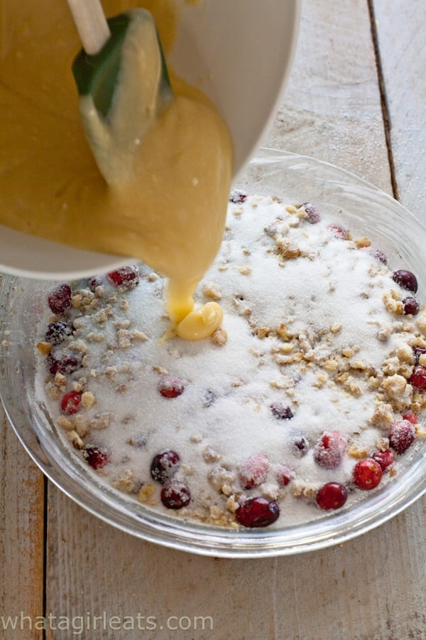 Nantucket Cranberry Pie - What A Girl Eats
