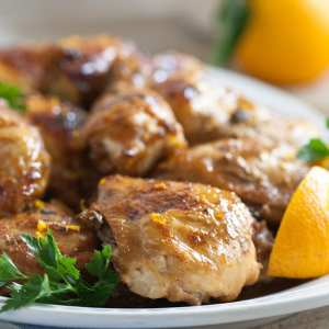 Slow-Cooker Chicken With Orange Sauce {And Grand Marnier}