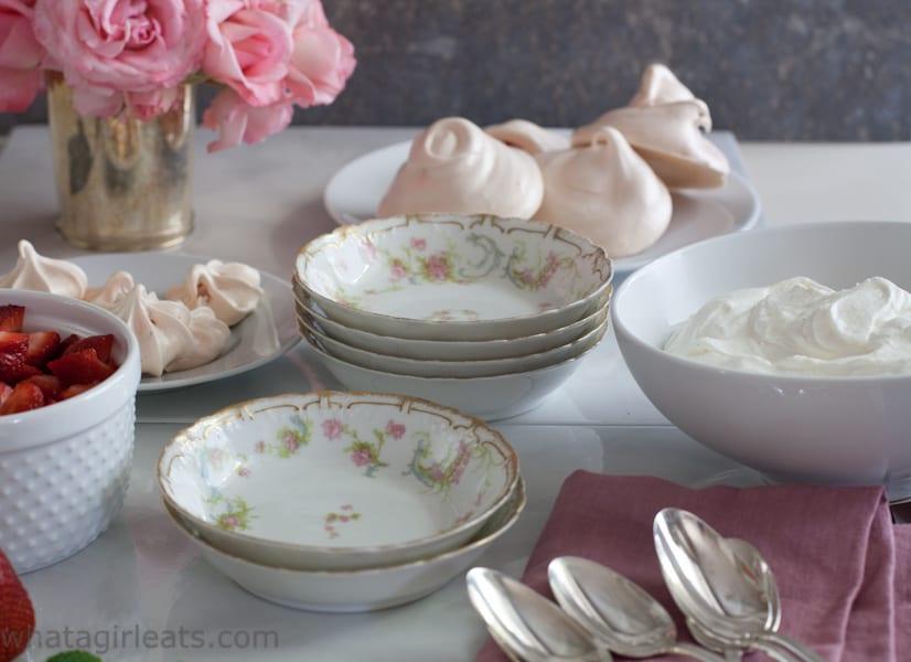 Eton Mess, a traditional British dessert is naturally gluten free.