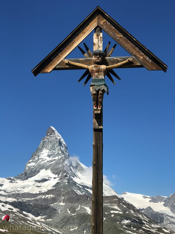 View of the Matterhorn from Riffelalp.