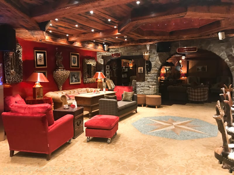 bar at the alex hotel zermatt