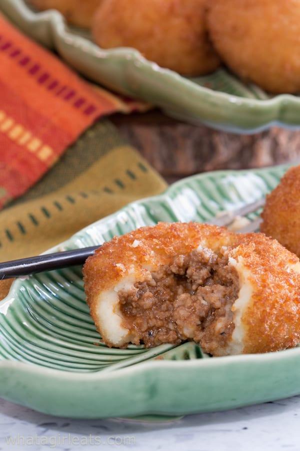 Cuban potato balls