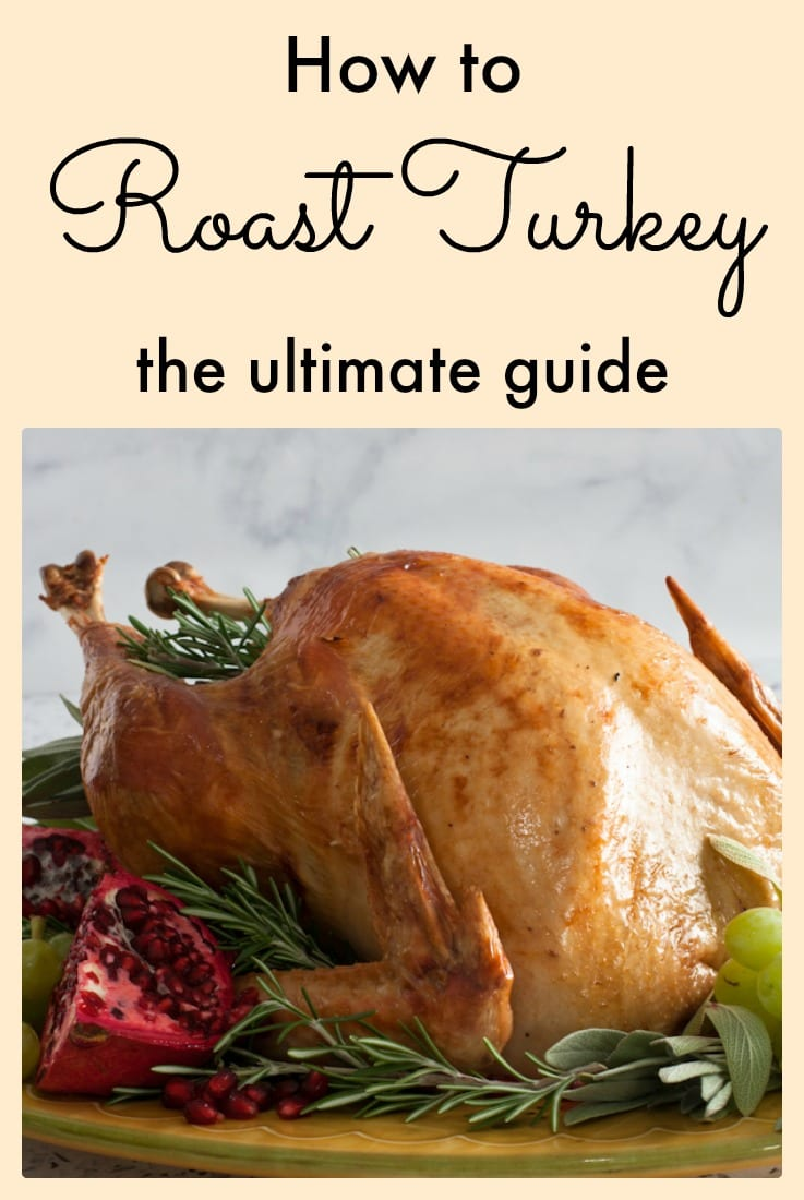 How to roast turkey; tips, tricks and temperatures, the ultimate guide!