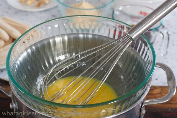 tempering yolks