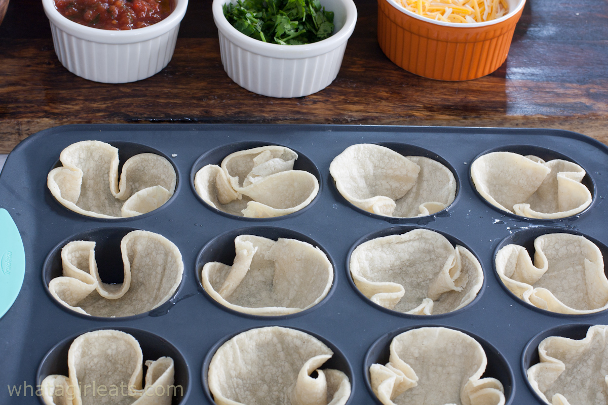 tortillas in tin