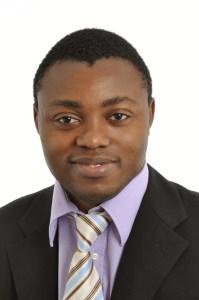 Charlie Njonmou, CEO of Mobile Solarkraftwerke Afrika