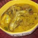 Moong Dal & Katla Fish Recipe