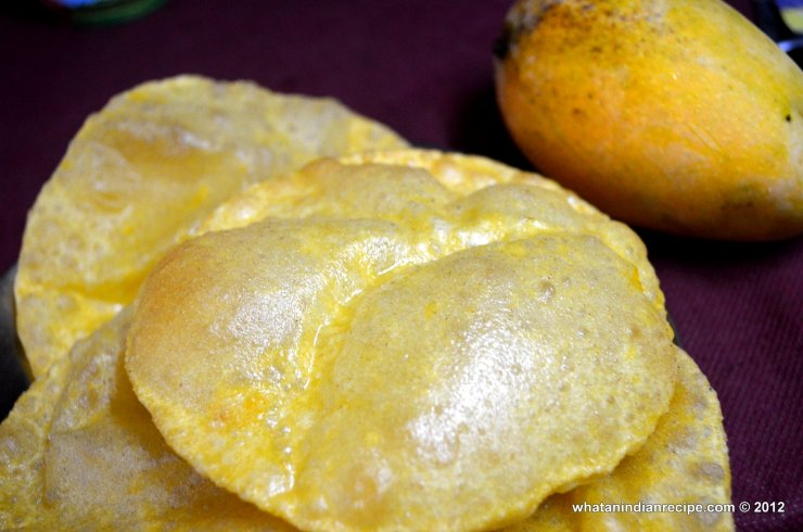 Aam Ki Puri Recipe