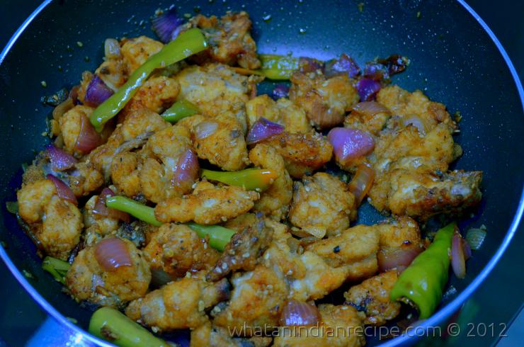 Bhutanese Chilli Chicken Recipe