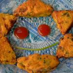 Cheese Bread Pakora recipe