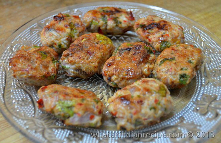 Chicken Tawa Kebab Recipe