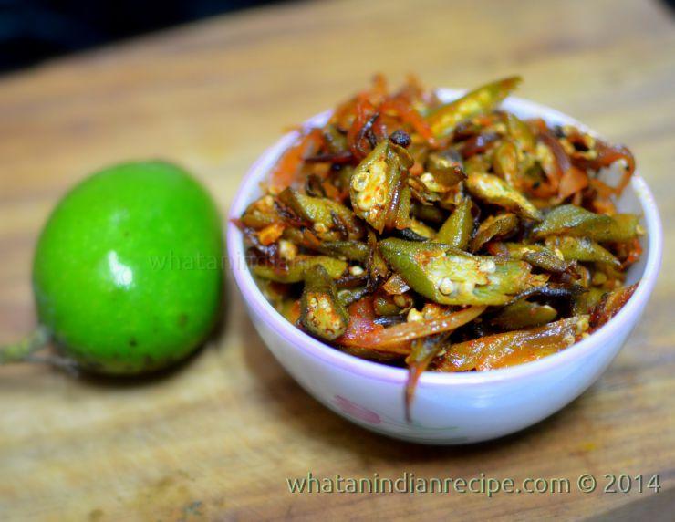 Kairiwali Bhindi Recipe