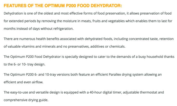 Optimum P200 review