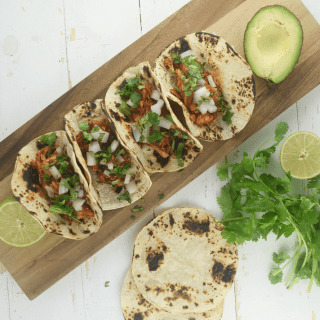 Smoky Chicken Tinga Tacos