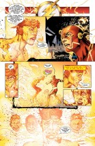 Wally falling apart in the speed force.