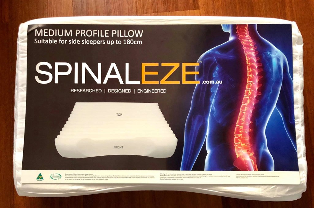 spinaleze pillow review