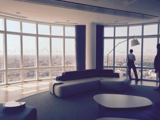 27° piano Unicredit Tower, Milano