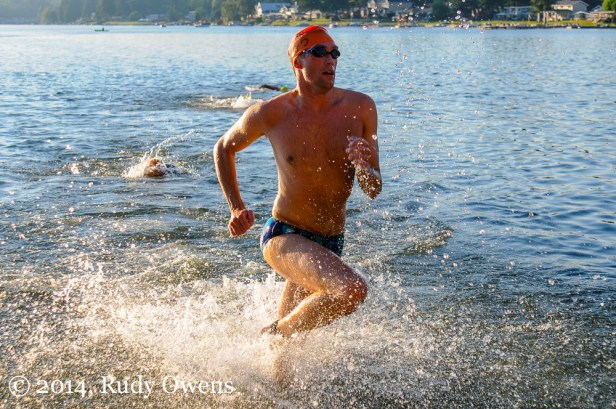 I took this at the Friday Night Swim race at Kent, Wash.'s Meridian Lake in August 2012.