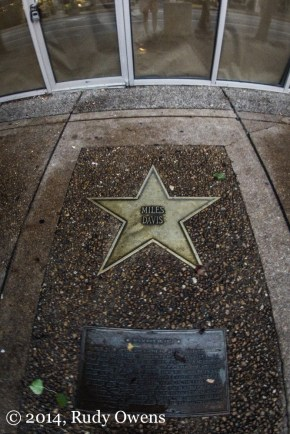 Miles Davis Star, Walk of Fame