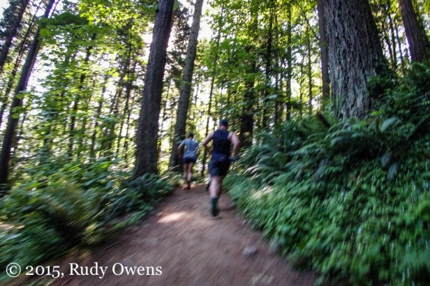 Trail Runners Photo Forest Park Portland