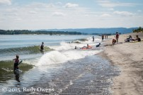 Wake Surf on Sauvie Island