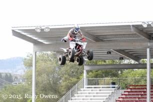 Omak Stampede jump photo