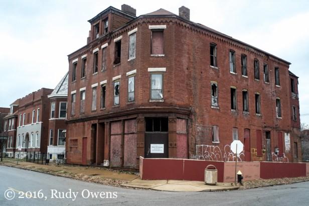 Abandonned Apartment, Fox Park Neighborhood