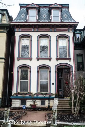 Lafayette Square Row Home in Winter