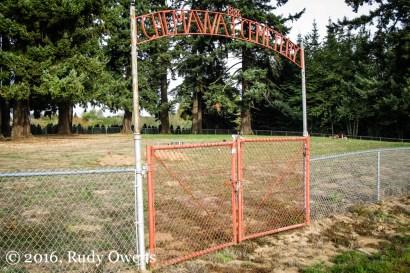 Chemewa Cemetery, Opened 1886