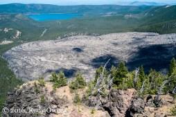 Newberry Crater View From Paulina Peak