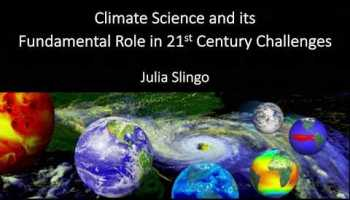 climate science and its fundamental role in 21st century challenges - '2040'