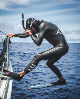 meet the guy swimming through the great pacific garbage patch 2 - Meet the guy swimming through the Great Pacific Garbage Patch