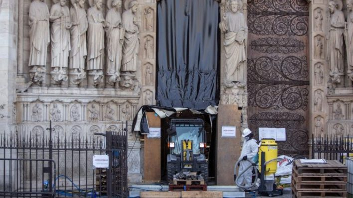 the notre dame disaster carpeted paris with lead dust - The Notre Dame disaster carpeted Paris with lead dust