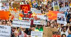 tens of thousands join sack scomo protests against government climate inaction as bushfires rage across australia - Tens of Thousands Join 'Sack ScoMo' Protests Against Government Climate Inaction as Bushfires Rage Across Australia