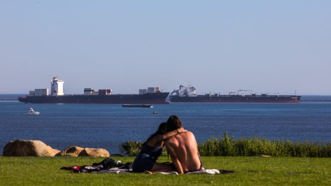 about all those oil tankers off the coast of california - About all those oil tankers off the coast of California …