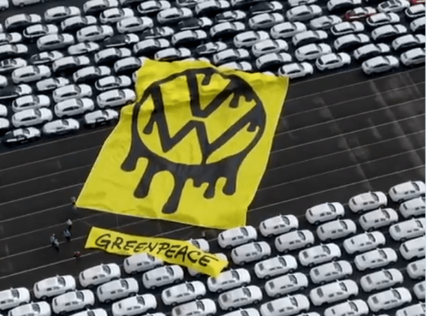 """grand theft greenpeace activists steal keys from 1000 new ice cars awaiting shipment in port - Grand Theft: Greenpeace Activists """"Steal"""" Keys From 1000 New ICE Cars Awaiting Shipment In Port"""