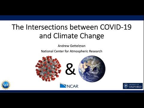 the intersections between covid and climate change - The Intersections between COVID and Climate Change