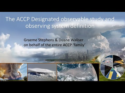 atmosphere observing system atmos aerosol cloud convection precipitation designated observable - Atmosphere Observing System (AtmOS): Aerosol, Cloud Convection & Precipitation Designated Observable