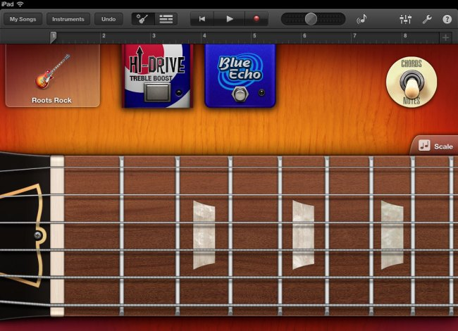 Apple GarageBand Virtual Guitar