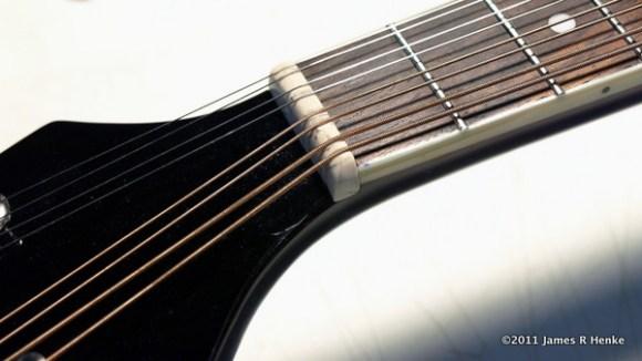 New Mandolin nut slots cut.