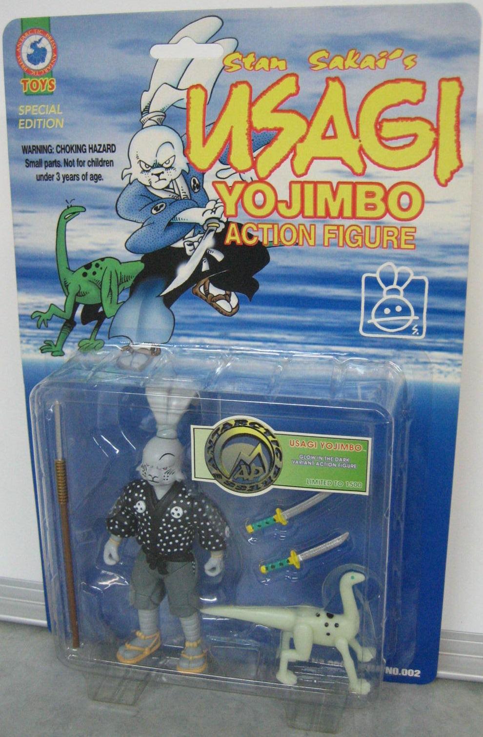 Plastic Paper Realm Usagi Yojimbo Great Comic No Toys
