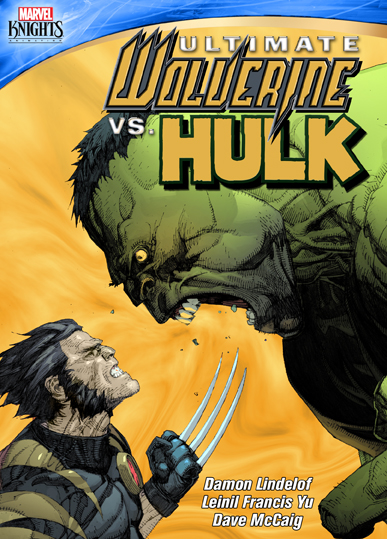 Ultimate Wolverine vs Hulk! Marvel Knights and Shout! Factory